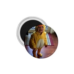 Baby Duckie Small Magnet (round)