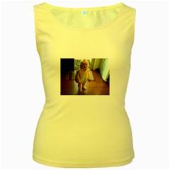 Baby Duckie Yellow Womens  Tank Top