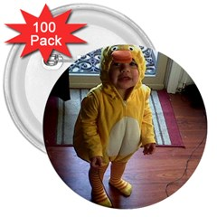 Baby Duckie 100 Pack Large Button (Round)