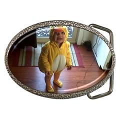 Baby Duckie Belt Buckle (Oval)
