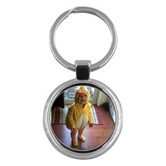 Baby Duckie Key Chain (round)
