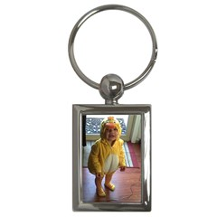 Baby Duckie Key Chain (Rectangle)