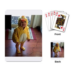 Baby Duckie Standard Playing Cards