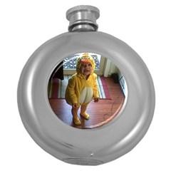 Baby Duckie Hip Flask (Round)