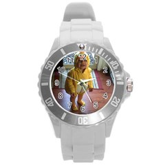 Baby Duckie Round Plastic Sport Watch Large