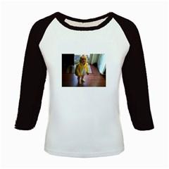 Baby Duckie Long Sleeve Raglan Womens'' T-shirt