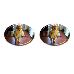Baby Duckie Oval Cuff Links