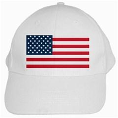 Flag White Baseball Cap