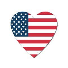 Flag Large Sticker Magnet (heart)