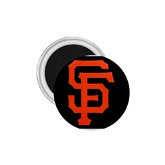 Sf Giants Logo Small Magnet (Round)