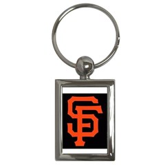 Sf Giants Logo Key Chain (Rectangle)