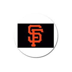 Sf Giants Logo Large Sticker Magnet (Round)