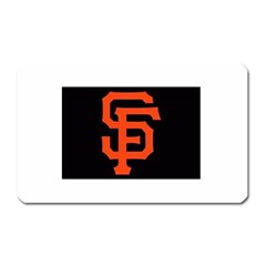 Sf Giants Logo Large Sticker Magnet (Rectangle)