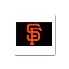 Sf Giants Logo Large Sticker Magnet (Square)