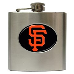 Sf Giants Logo Hip Flask