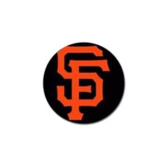 Sf Giants Logo 4 Pack Golf Ball Marker