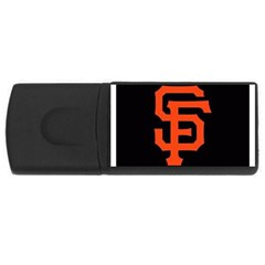 Sf Giants Logo 2Gb USB Flash Drive (Rectangle)