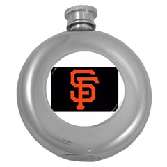 Sf Giants Logo Hip Flask (Round)