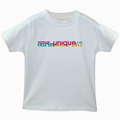 Tees Color Word White Kids'' T-shirt