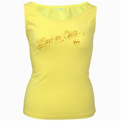 Nuka Cola Yellow Womens  Tank Top