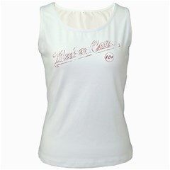 Nuka Cola White Womens  Tank Top