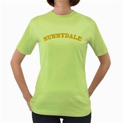 Sd Green Womens  T Shirt