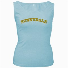 Sd Baby Blue Womens  Tank Top