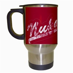 Nuka Cola  White Travel Mug