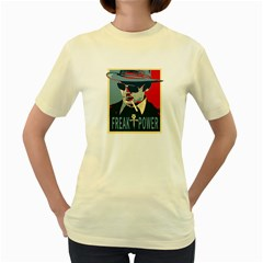 Hst Yellow Womens  T Shirt