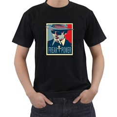 Hst Twin Sided Black Mens'' T Shirt