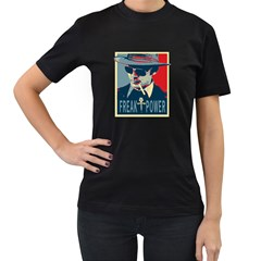 Hst Twin Sided Black Womens'' T Shirt