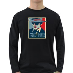 Hst Dark Colored Long Sleeve Mens'' T-shirt