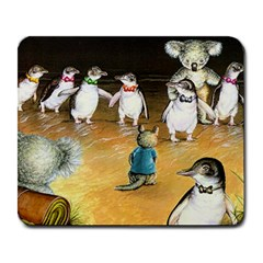 Penguin Parade Mouse Large Mouse Pad (rectangle)