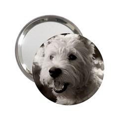 Westie.puppy Handbag Mirror