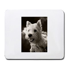 Westie.puppy Large Mouse Pad (Rectangle)