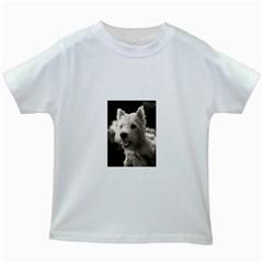 Westie Puppy White Kids'' T Shirt