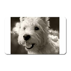 Westie.puppy Large Sticker Magnet (Rectangle)