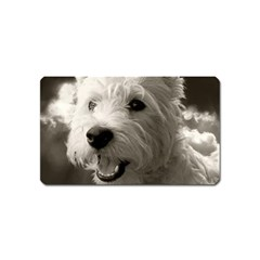 Westie.puppy Name Card Sticker Magnet