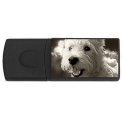 Westie.puppy 1Gb USB Flash Drive (Rectangle)