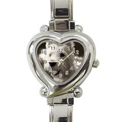 Westie.puppy Classic Elegant Ladies Watch (Heart)
