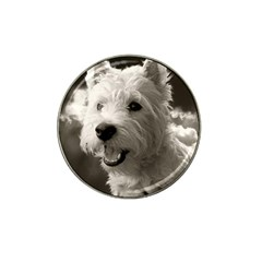 Westie Puppy 4 Pack Golf Ball Marker (for Hat Clip)