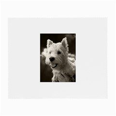 Westie Puppy Glasses Cleaning Cloth