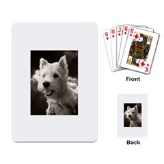 Westie Puppy Standard Playing Cards