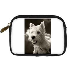 Westie Puppy Compact Camera Case