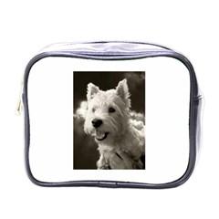 Westie.puppy Single-sided Cosmetic Case