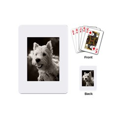 Westie.puppy Playing Cards (Mini)