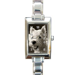 Westie Puppy Watch Classic Classic Elegant Ladies Watch (rectangle)
