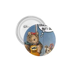 Wombat Woman Small Button (Round)
