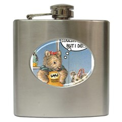 Wombat Woman Hip Flask