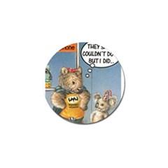 Wombat Woman 10 Pack Golf Ball Marker